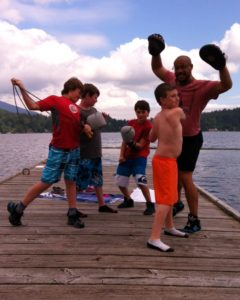 2014 Boxing w kids